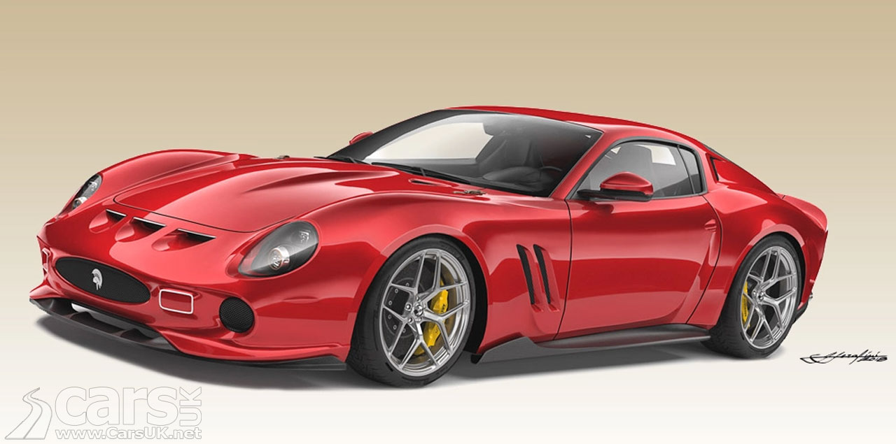 Ferrari 250 GTO Homage by Ares Design