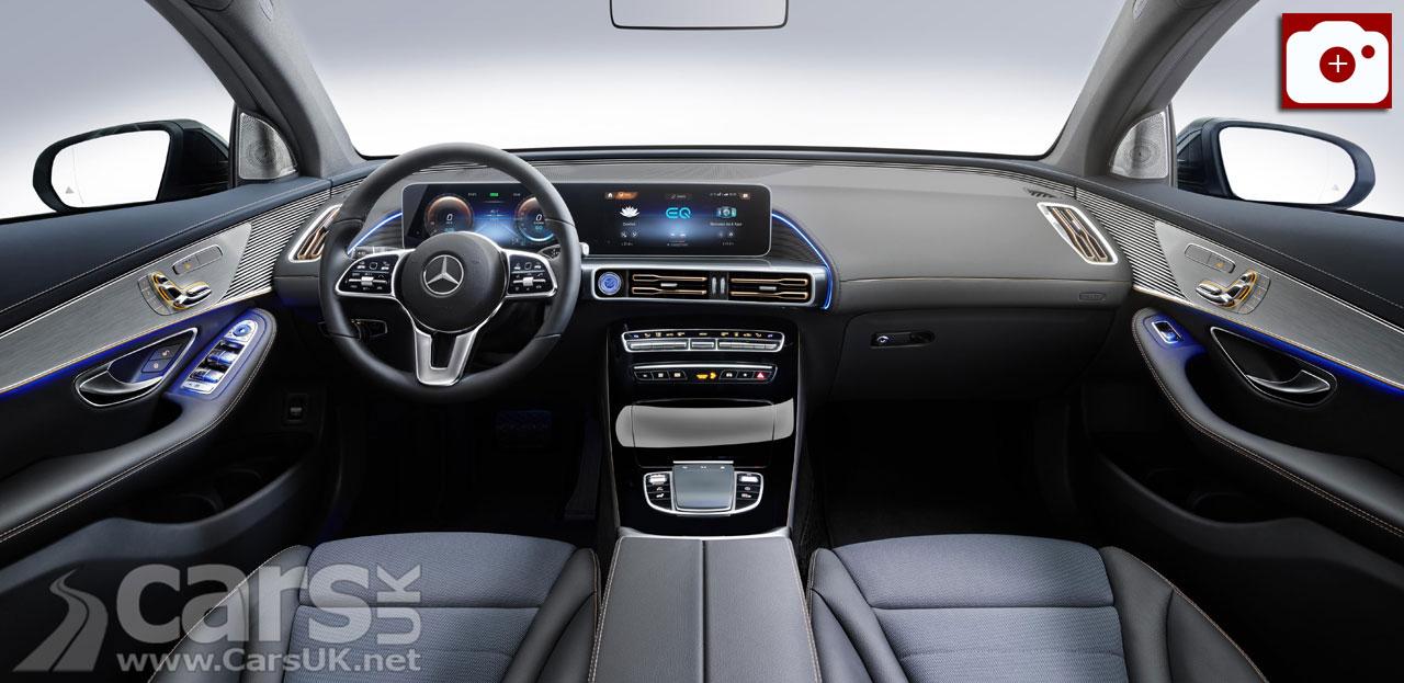 Mercedes EQC Electric SUV Interior