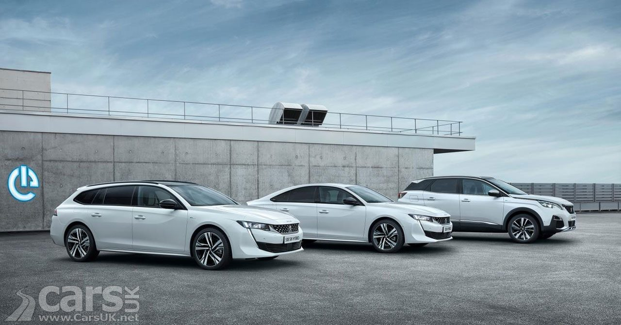 Peugeot 3008, 508 and 508 Estate get new HYBRID powertrains