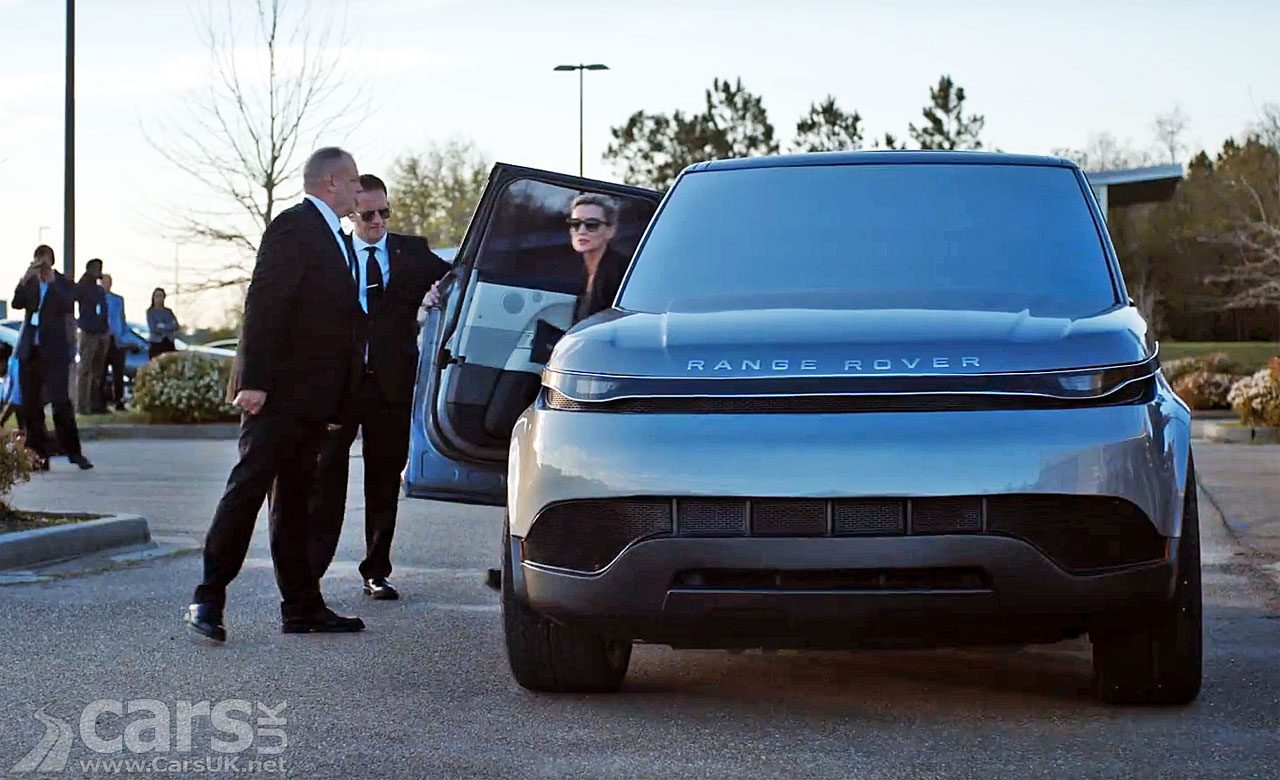 2030 Range Rover Sport in the Hulu drama The First
