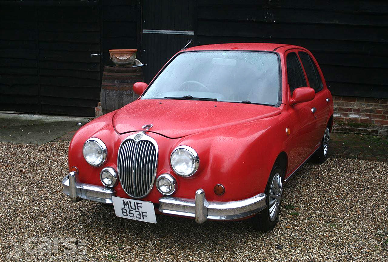 Is it a Jaguar MK II? Not quite