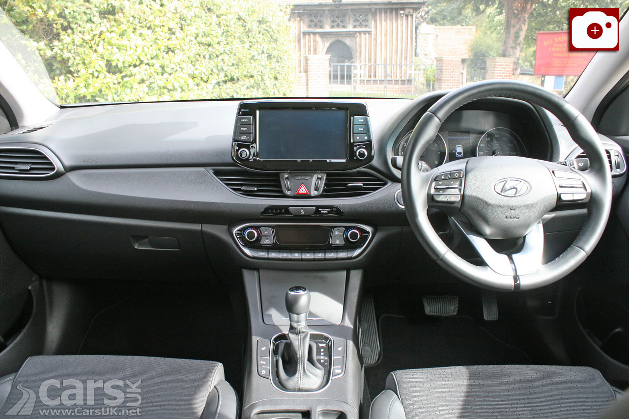 Hyundai i30 Fastback Premium Review Interior