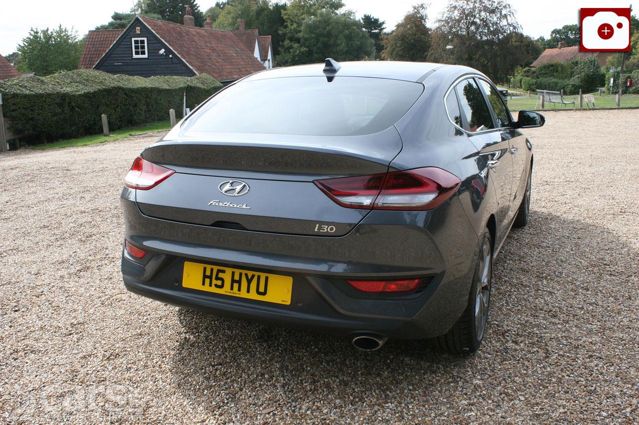 Hyundai i30 Fastback Premium Review on the road