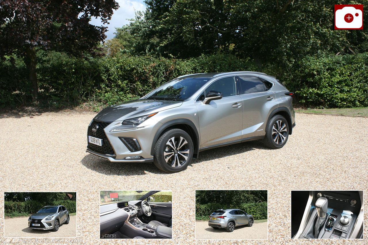 Lexus NX 300h F Sport Review (2018) Photo Gallery