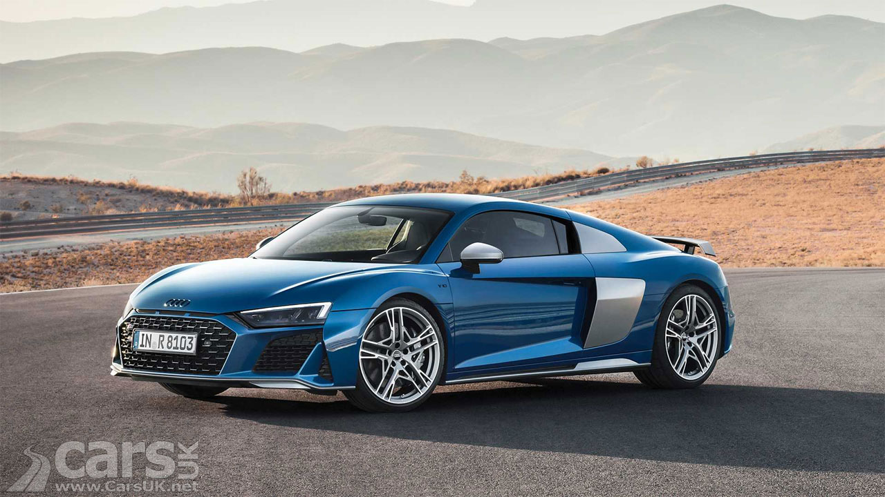 Audi R8 gets a bit of a facelift