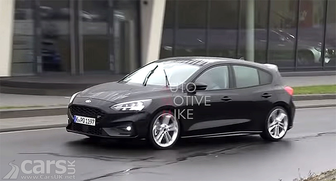 2019 Ford Focus St Spied On Video Cars Uk