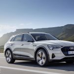 Audi e-tron Electric SUV gets UK debut today – in Milton Keynes