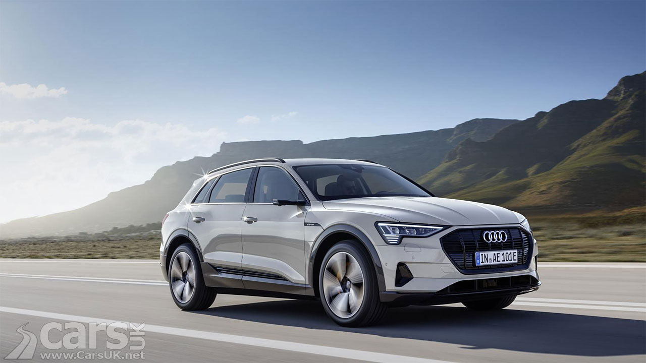 Audi e-tron Electric SUV gets UK debut today