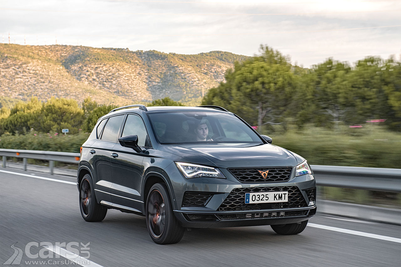 Cupra Ateca UK Price and Spec