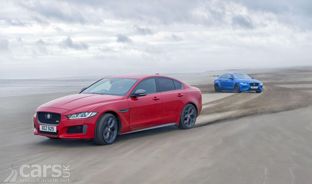 Jaguar XE 300 Sport Pendine Sands