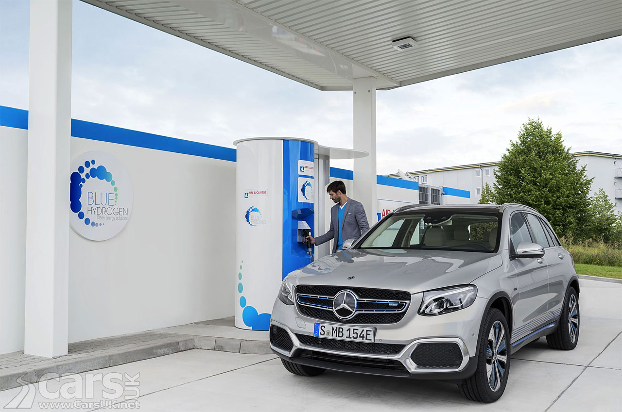 Mercedes GLC F-Cell Hydrogen plug-in now available