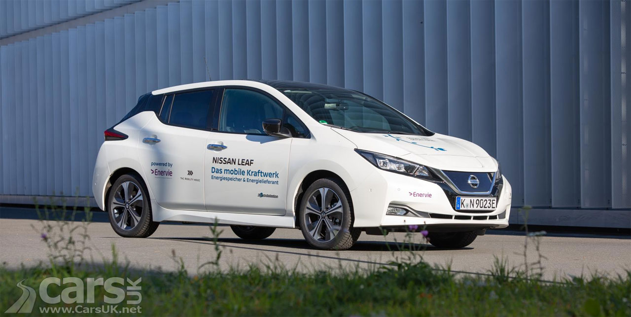 Nissan LEAF is OFFICIALLY a Power Station