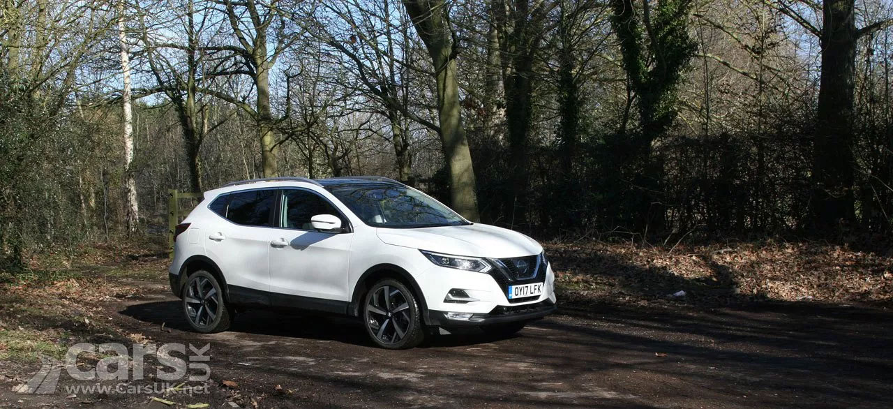 The Nissan Qashqai is the Best British Built Car