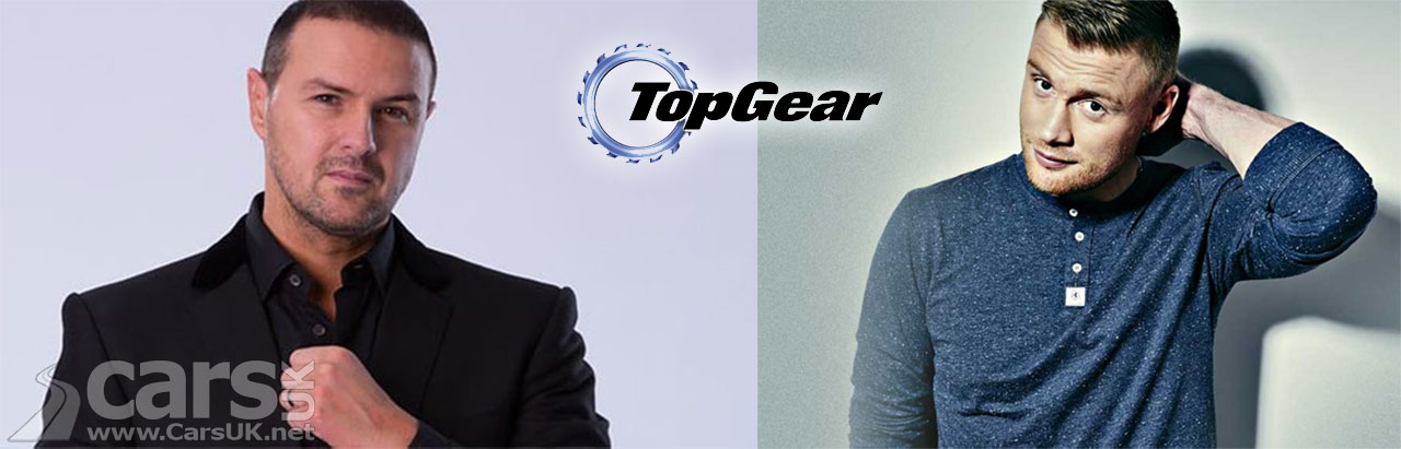 Paddy McGuinness and Freddie Flintoff - NEW hosts of Top Gear