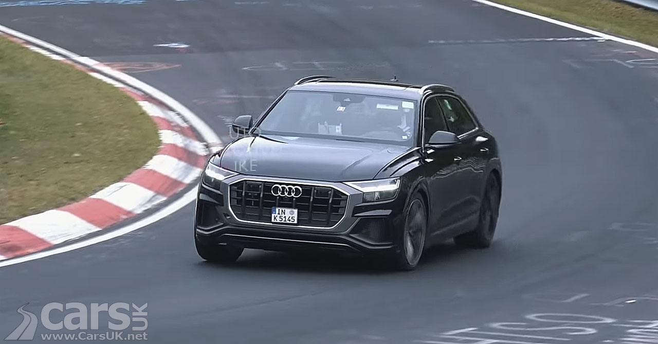 Audi SQ8 SPIED on video
