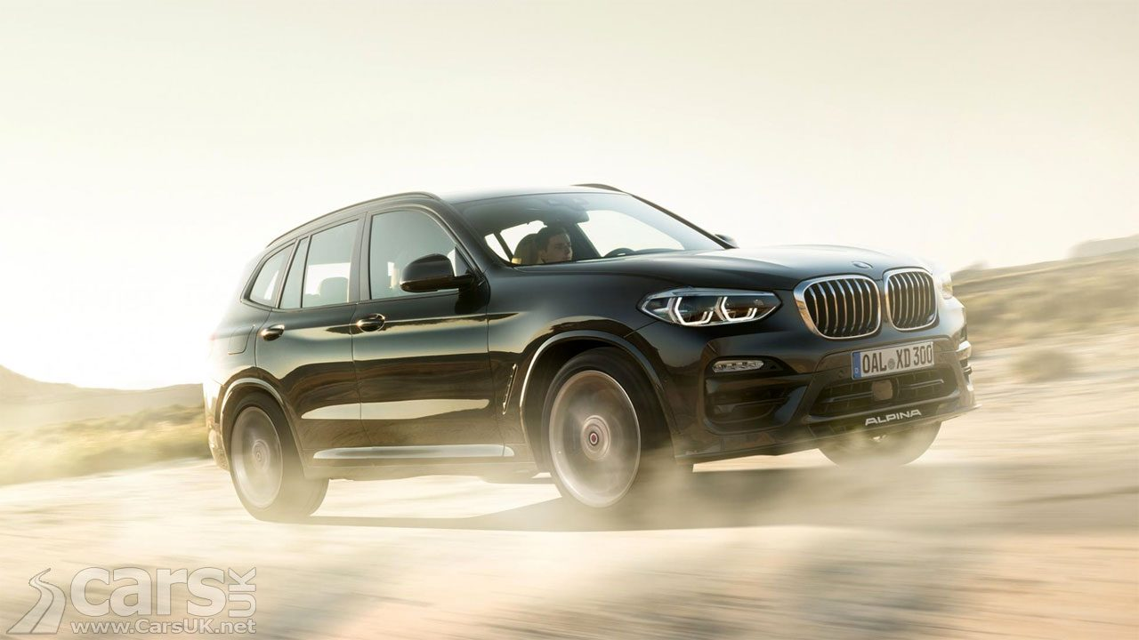 The Alpiona XD3 - Alpina's performance diesel X3 - is heading for the UK