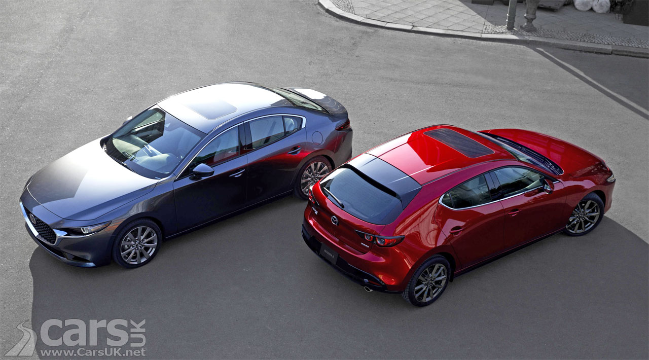 2019 Mazda 3 with SkyActiv-X petrol engine debuts