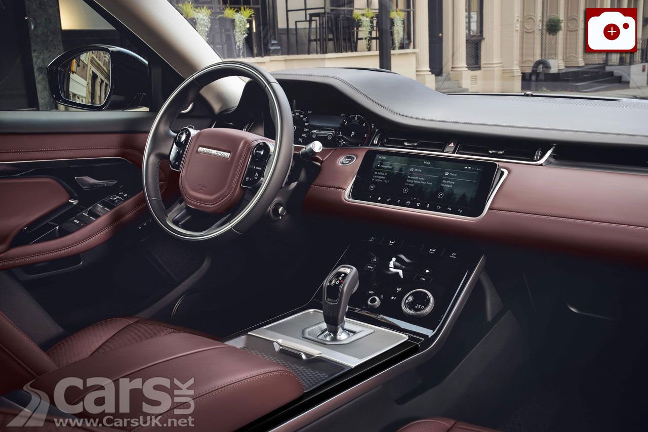 New Range Rover Evoque interior
