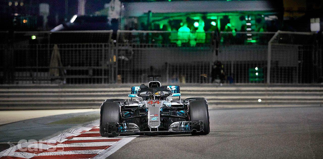 Lewis Hamilton on pole at 2018 Abu Dhabi Grand Prix