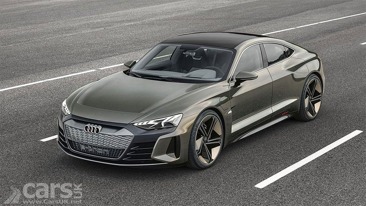 Audi e-tron GT concept revealed