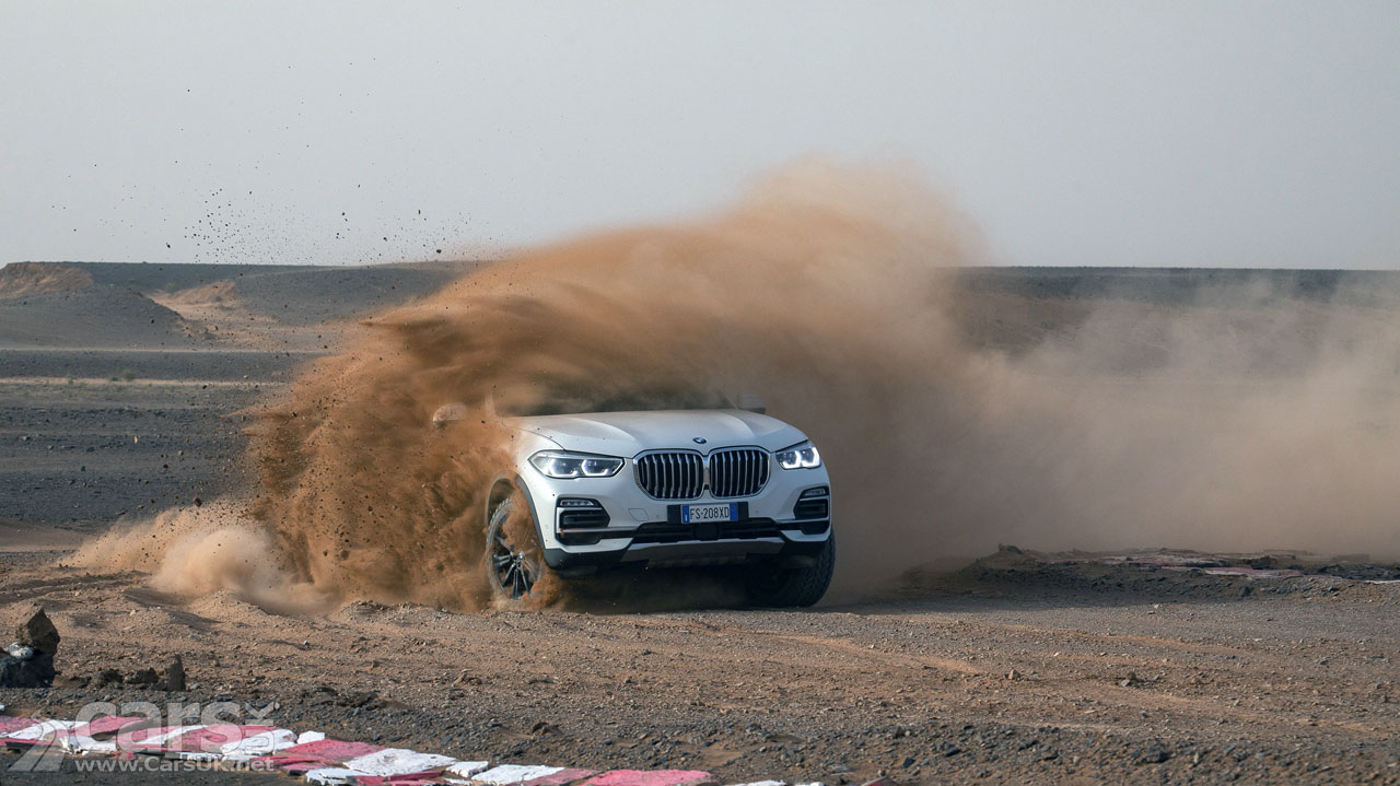New BMW X5 tackles Monza in the Sahara