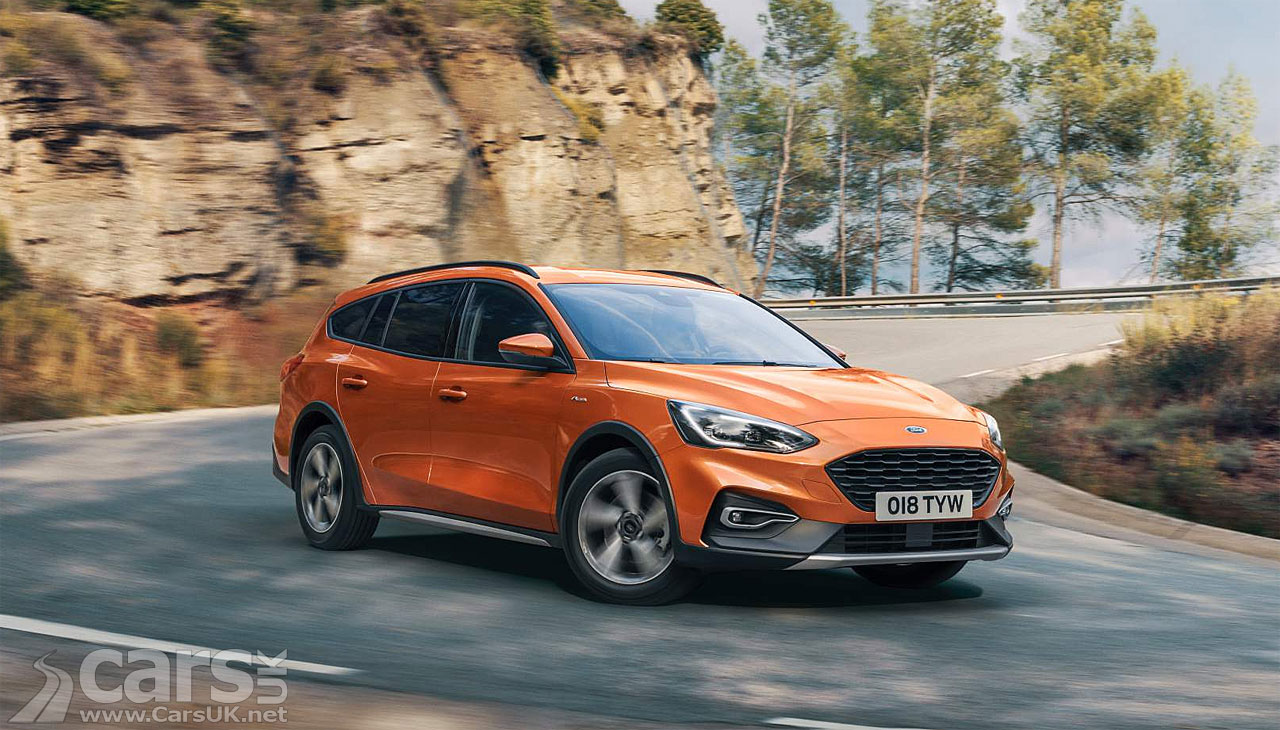 Ford Focus Active Estate Revealed
