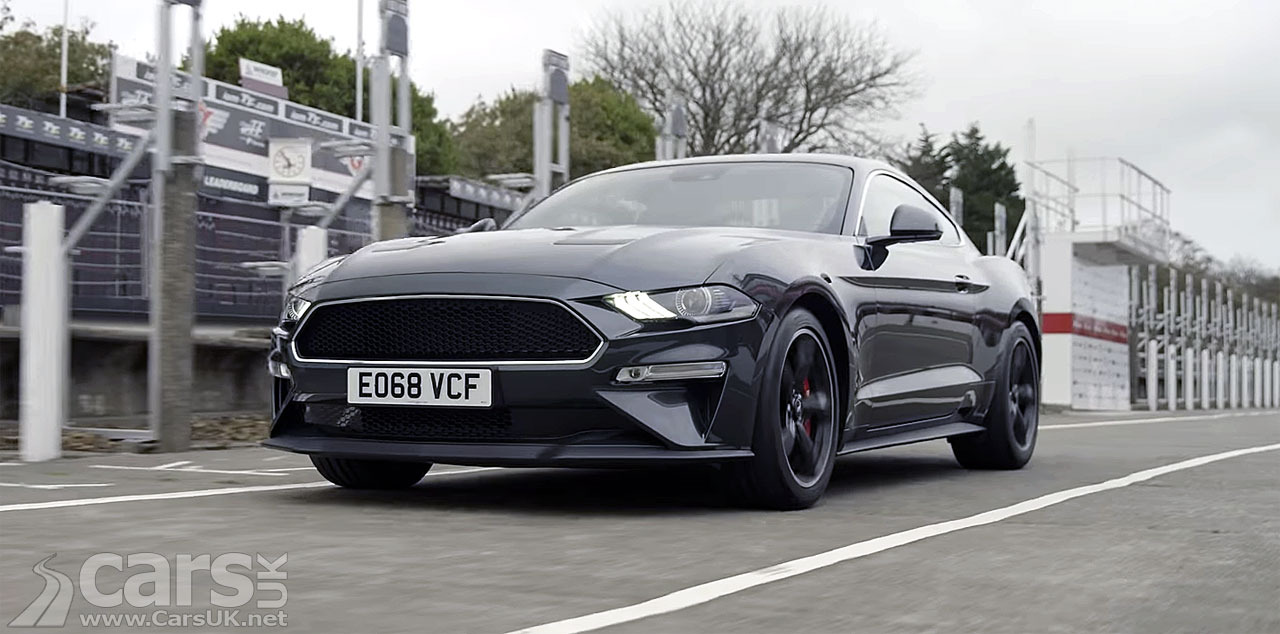 Ford Mustang Bullitt takes on the Isle of Man TT Course