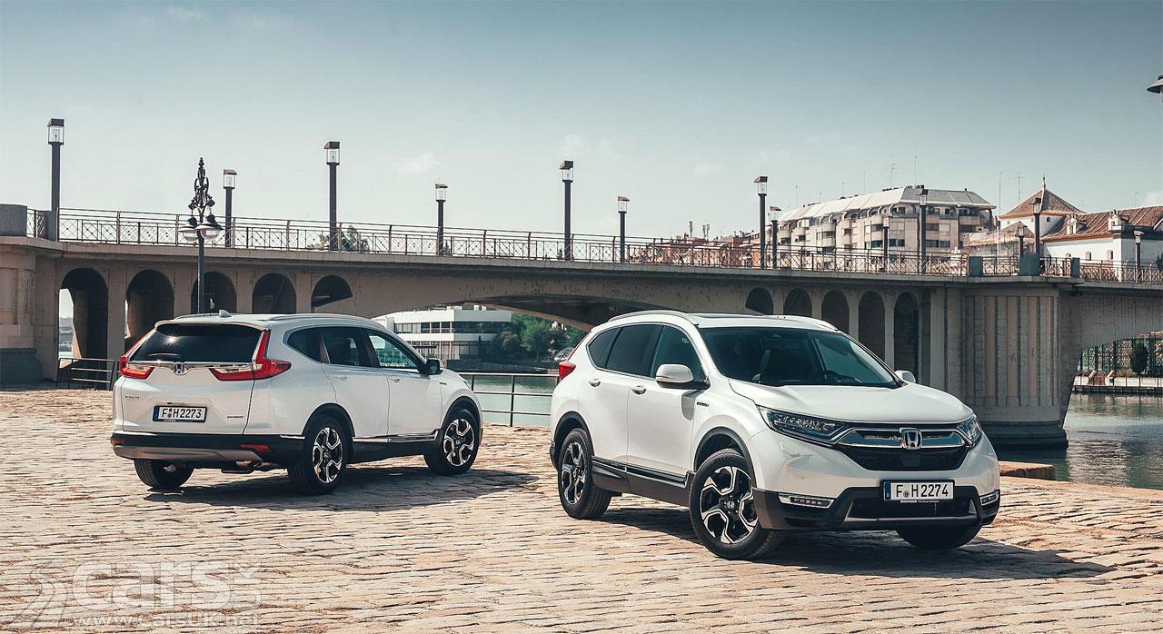 Honda Cr V Hybrid Uk Price And Spec Announced Cars Uk
