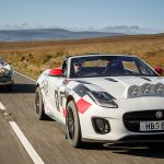 Jaguar F-Type CONVERTIBLE Rally cars – 70 years on from the XK120