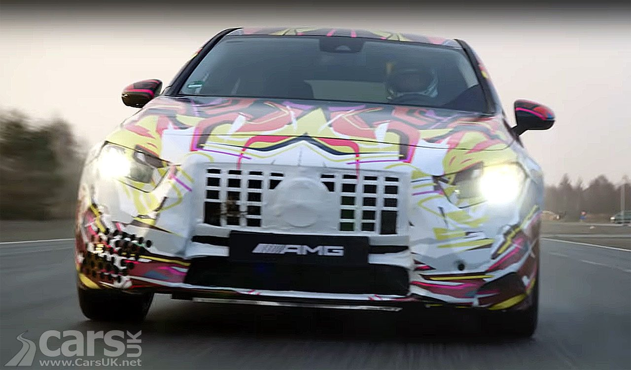 Mercedes-AMG A 45 Drift Tease Video
