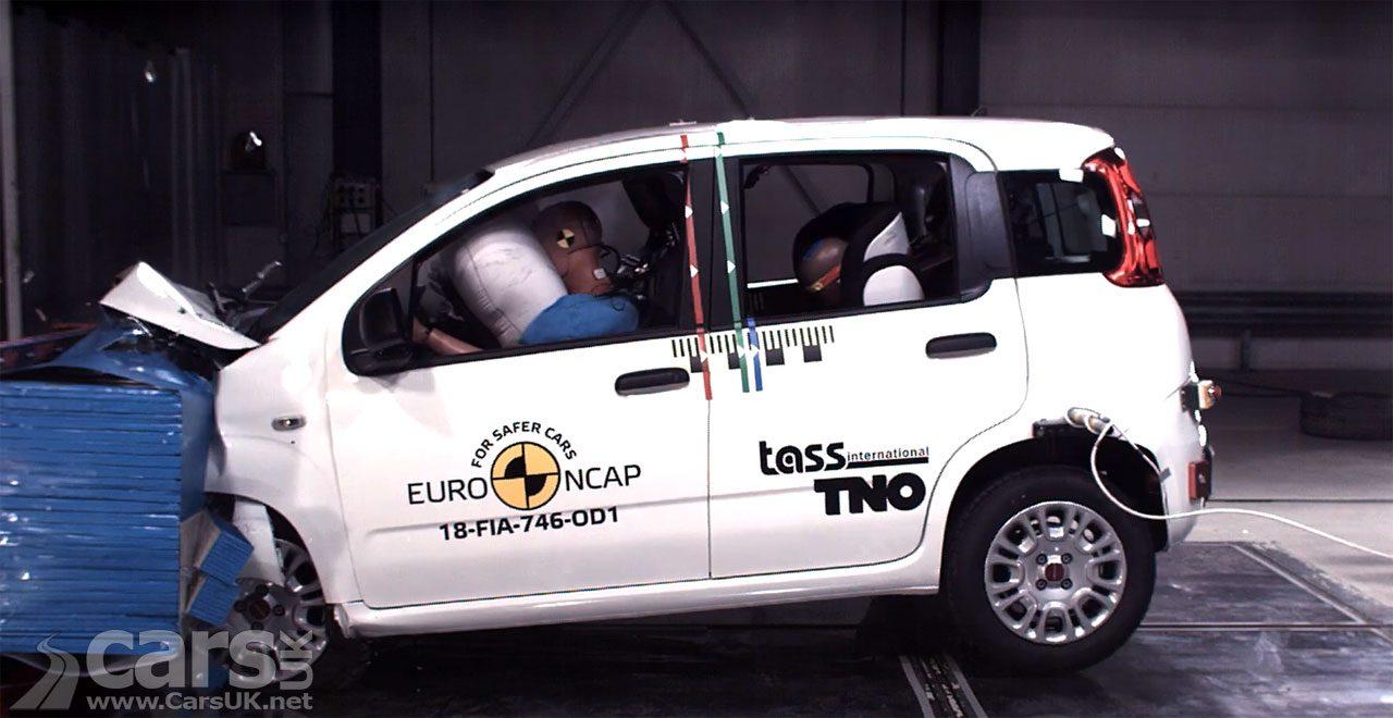 Fiat Panda scores ZERO in latest Euro NCAP tests