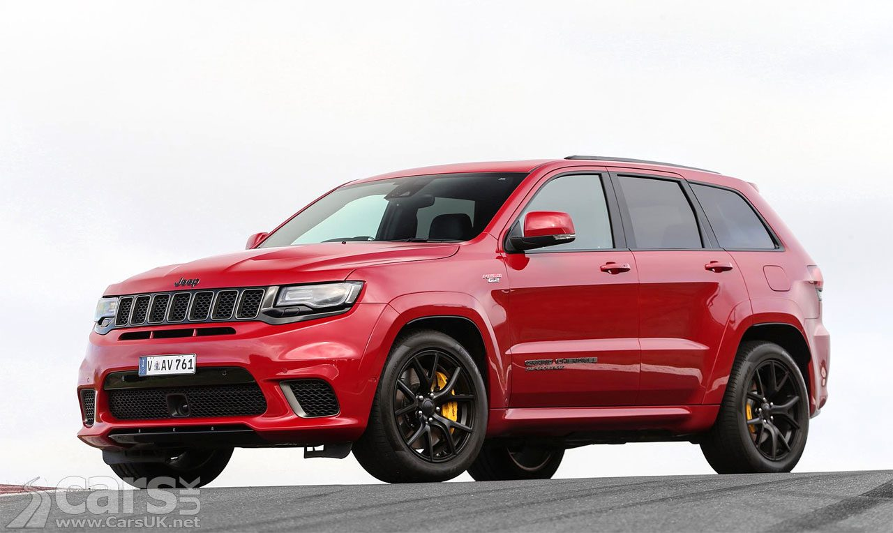 Jeep Grand Cherokee Trackhawk for the UK