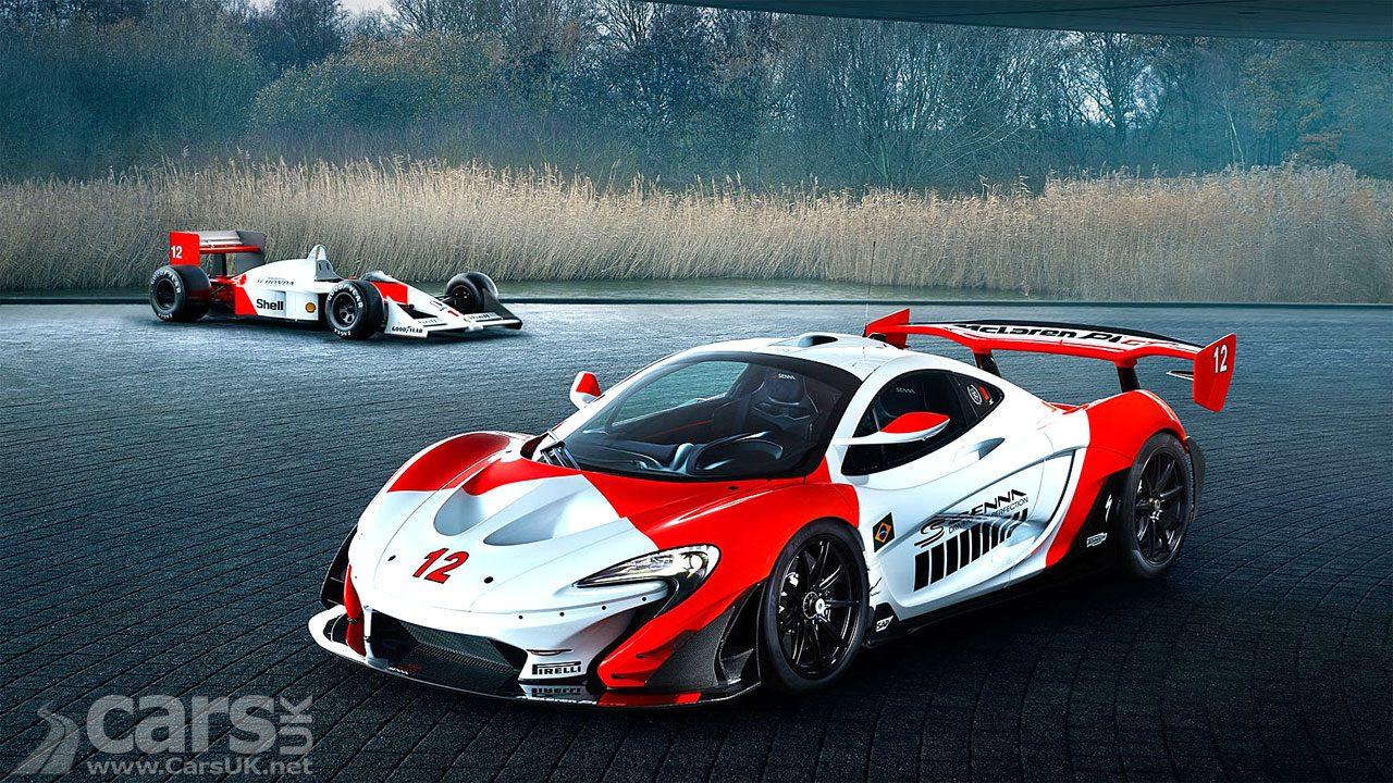 McLaren P1 GTR MSO Senna Marlboro Special