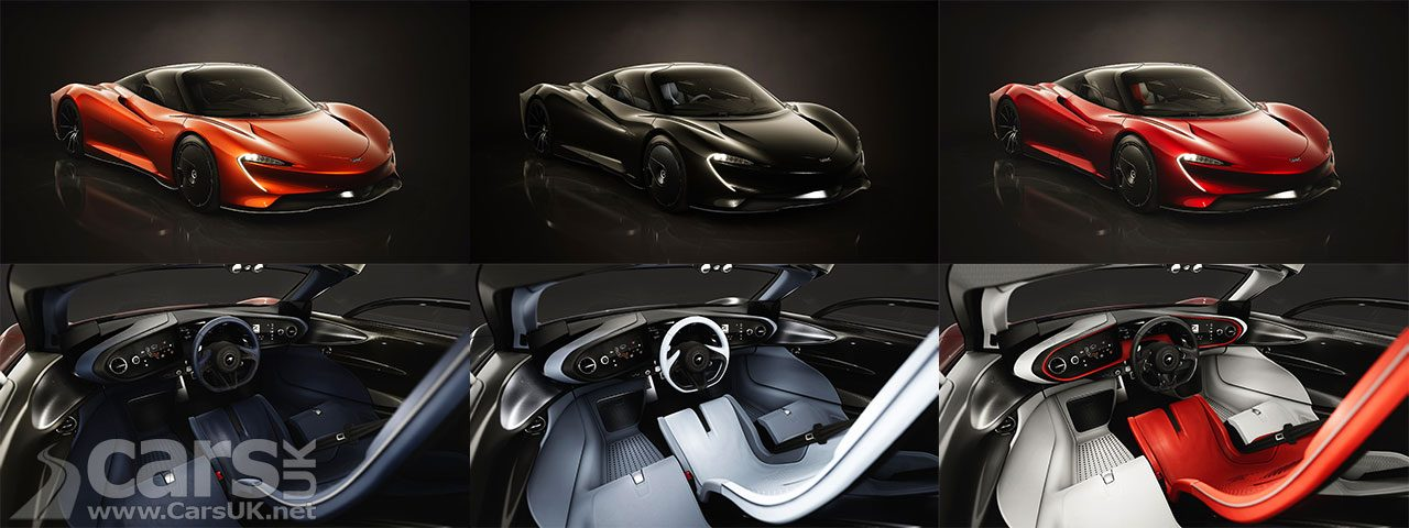 McLaren Speedtail Design Themes