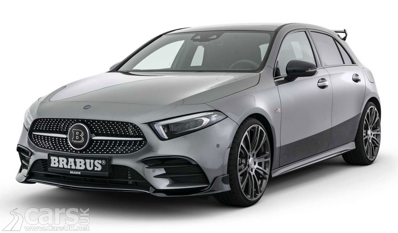 New Mercedes A 250 gets the Brabus treatment