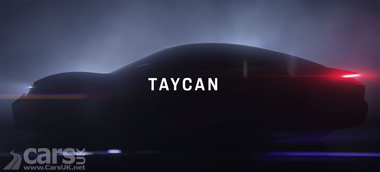 It's NOT the Porsche Taycan