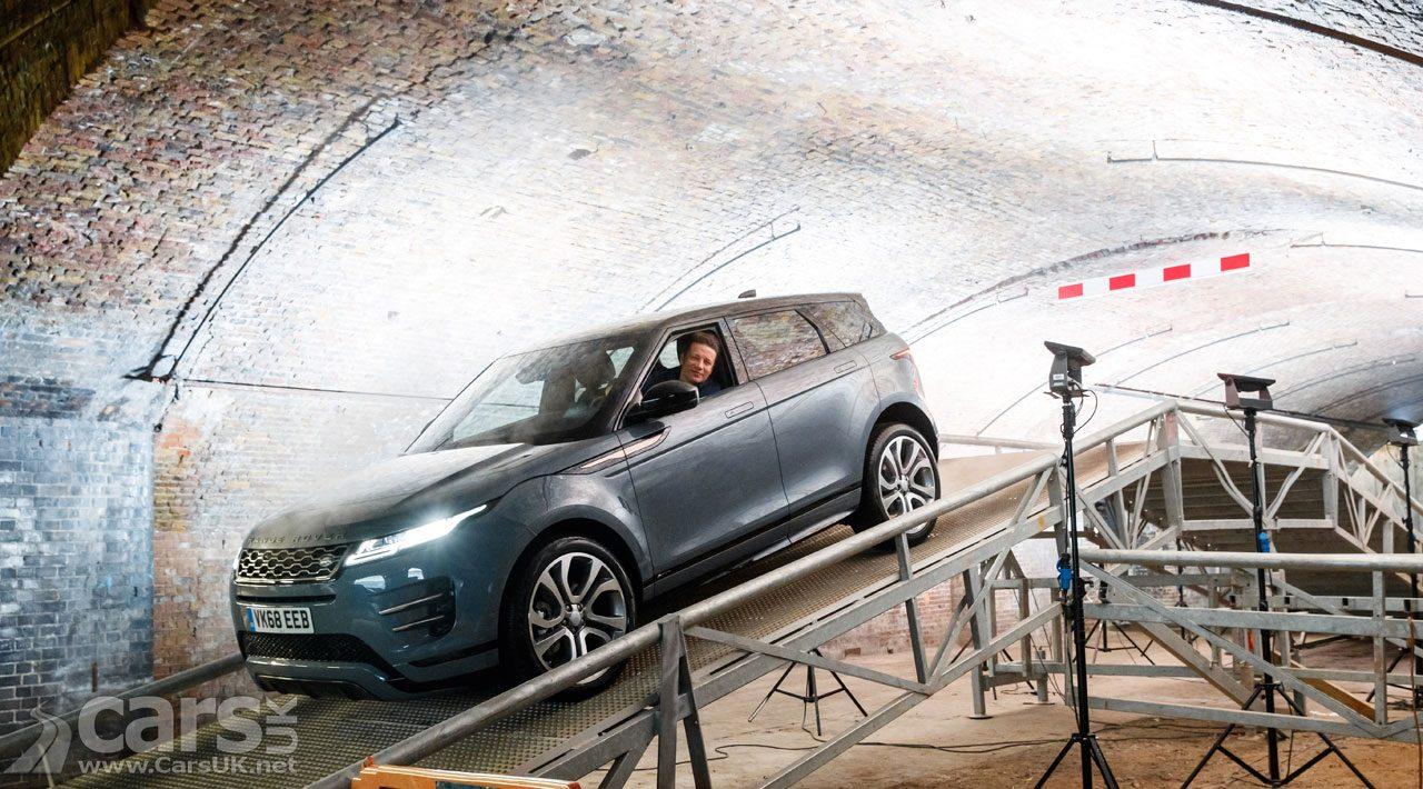 New Range Rover Evoque Jamie Oliver