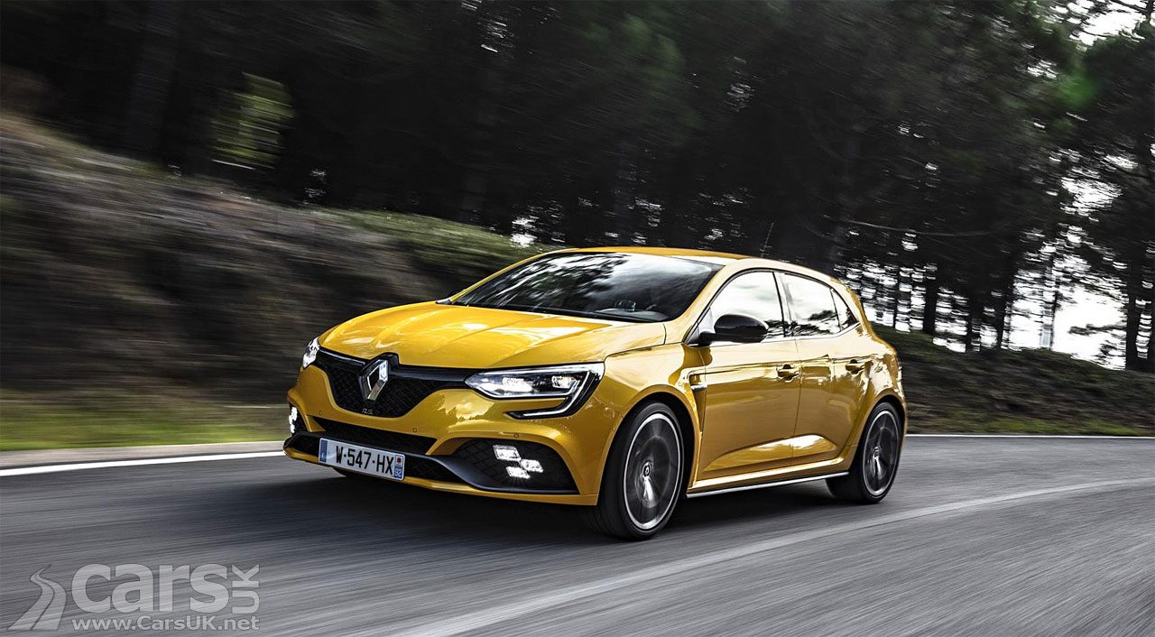 Renault Megane RS Trophy now on SALE in the UK