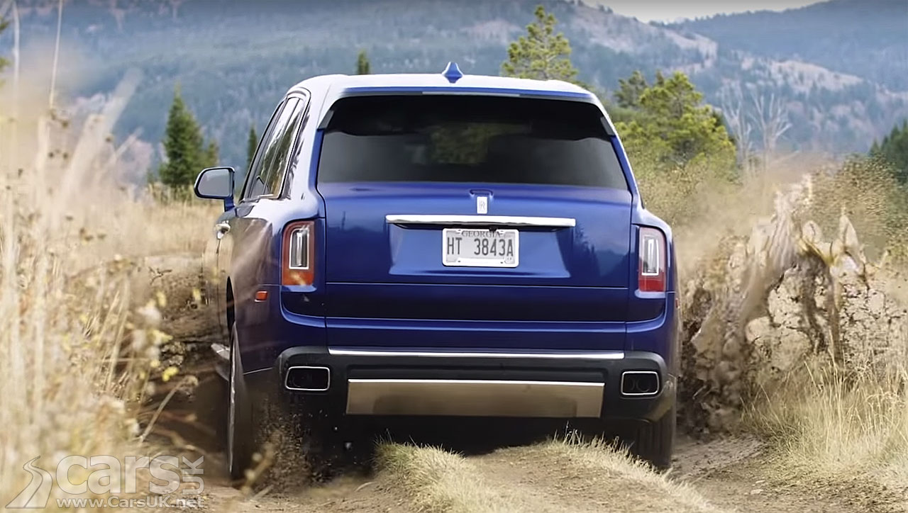 Rolls-Royce Cullinan SUV really is VERY good