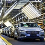 The 100,000th Volvo S90 rolls out in China and is heading for the UK