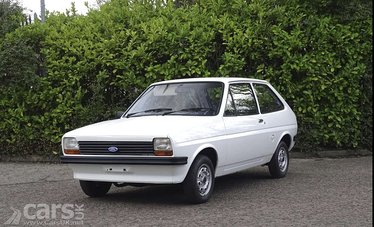 'New' 1978 Ford Fiesta 950 up for grabs