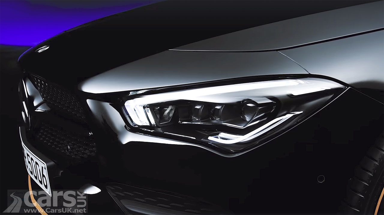 New Mercedes CLA video tease