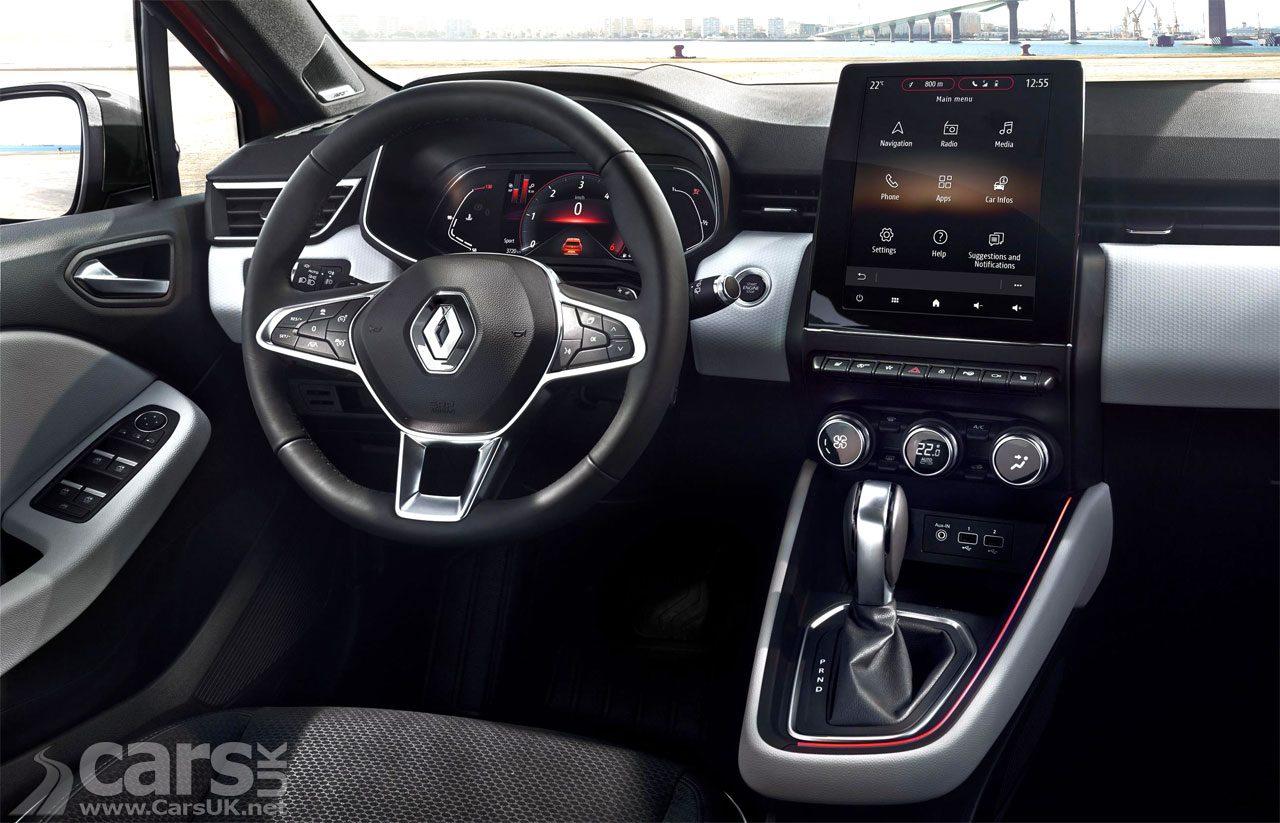New Renault Clio interior revealed