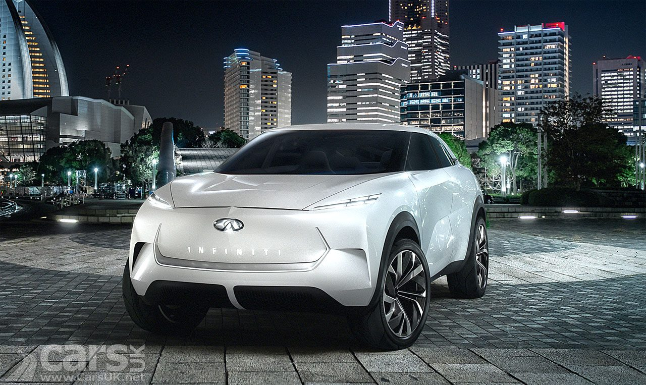 Infiniti QX Inspiration ELECTRIC SUV Concept