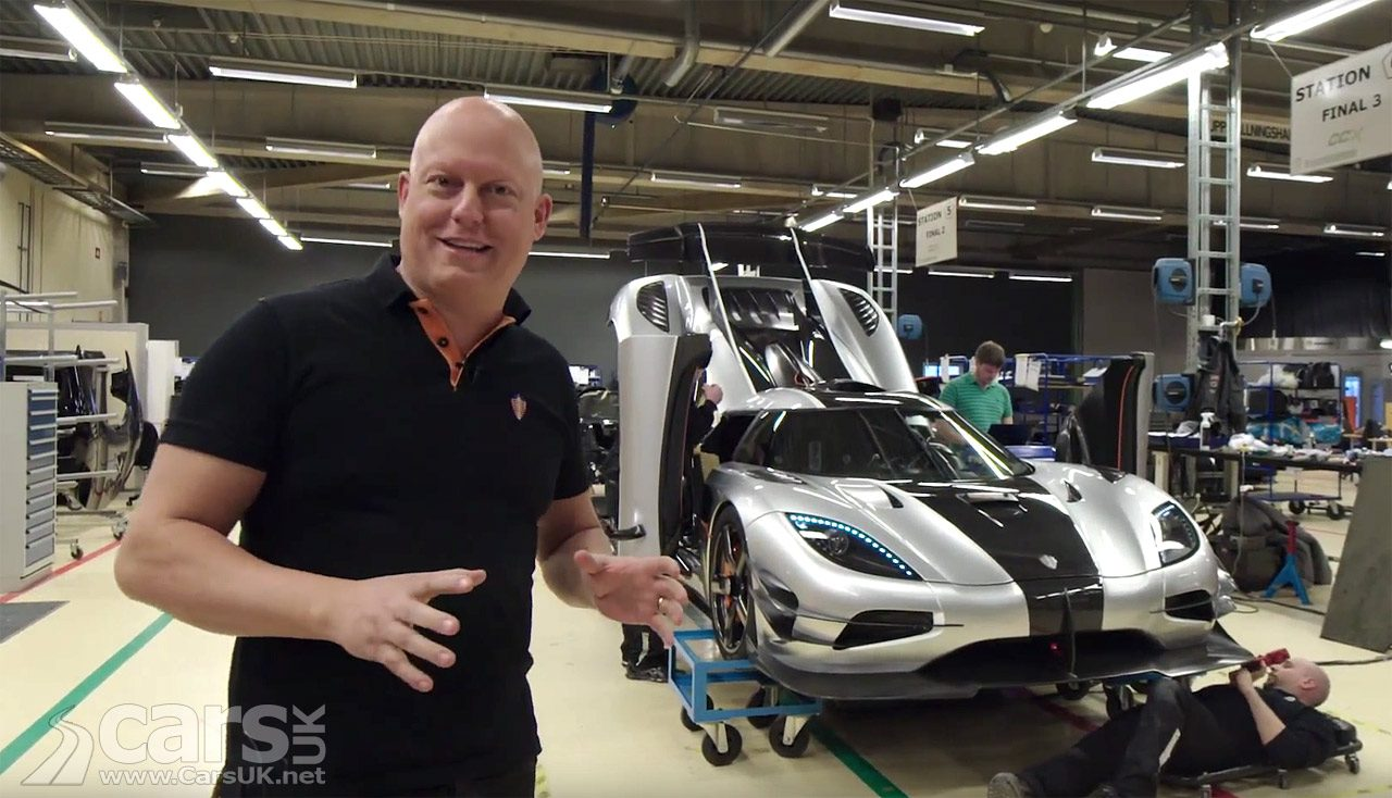 Christian von Koenigsegg finally teams up with Saab