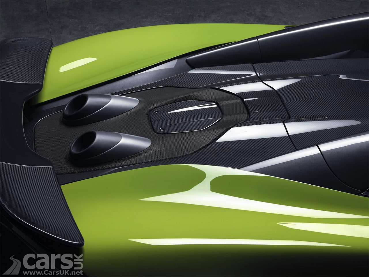 McLaren 600LT Spider TEASE