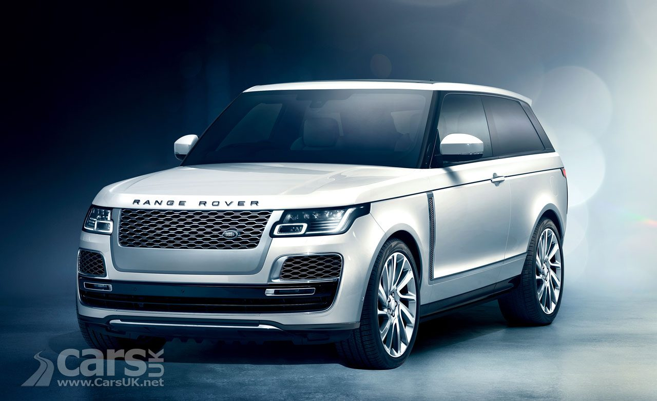 Range Rover SV Coupe scrapped