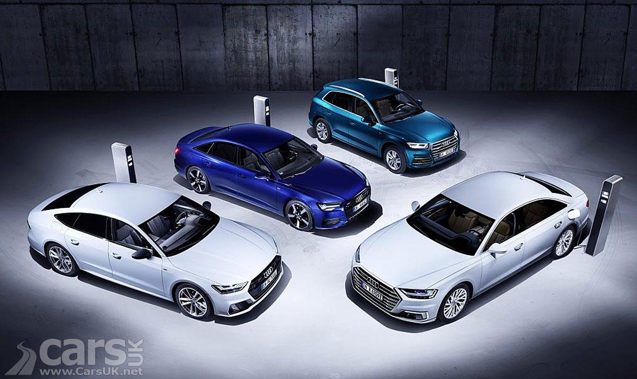 Audi A6, A7, A8 and Q5 TFSI e plug-in Hybrids