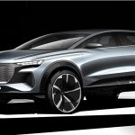 Audi Q4 e-tron electric SUV REVEALED in design sketches ahead of Geneva debut