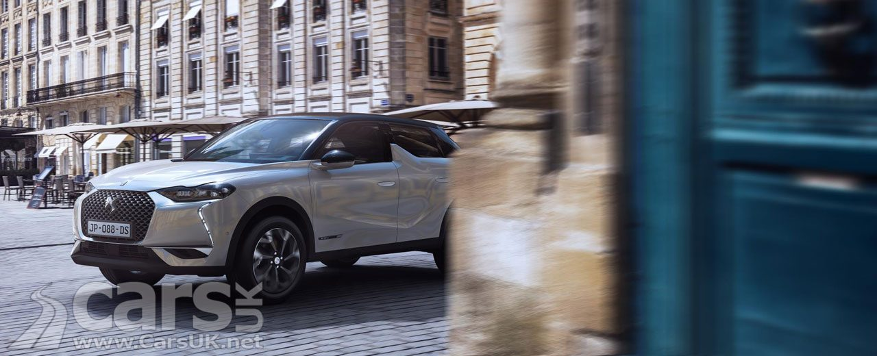 DS 3 Crossback UK prices and specs
